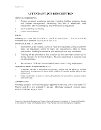 Personal Assistant Job Description For Resume Personal Assistant Job Description 16