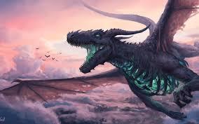 Dragon Fantasy 4K Wallpaper #63