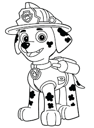 Paw Patrol Christmas Coloring Pages Pdf Paw Patrol Coloring Page