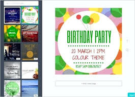 Invitation Template Free Printable Word Publisher Birthday