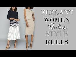 7 Things ALL <b>Stylish Women</b> Know | Fashion Over 40 - YouTube