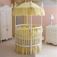 erfly silk round crib bedding set