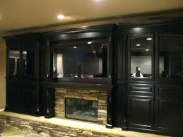 wall units fireplace over fireplace ideas entertainment center custom entertainment centers and wall units over fireplace