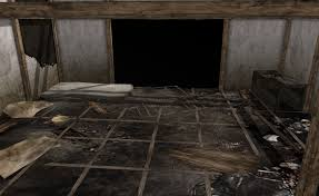 MMD Scary Abandoned Haunted House By Amiamy On DeviantArt - Creepy basement bedroom