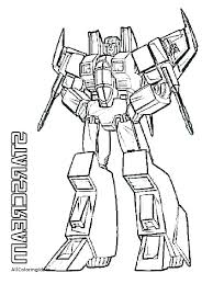 Transformer Coloring Page Color Pages Printable Home Transformers