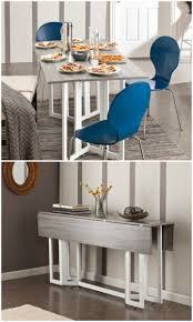 Fold Out Console Dining Table Inspirational Twenty Dining Tables That Work  Great In Small Spaces Of