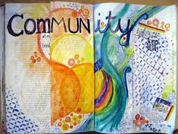 is journaling a word folded pages in my art journal dianne faw