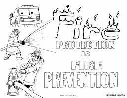 Small Picture Coloring Pages Fire Truck Coloring Page For Preschoolers