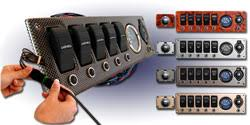 marine electrical switch panels boat wiring easy to install our deluxe five switch marine electrical panel includes a volt meter