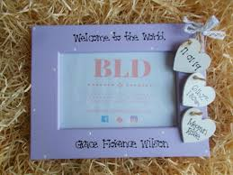 details about welcome to the world newborn baby nursery personalised photo frame keepsake gift