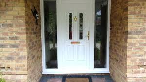 front door with side panels white front door with glass front door with side panel surprising