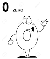 zero clipart black and white. Delighful And With Zero Clipart Black And White