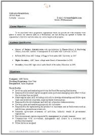 Best Resume Format Free Experienced Resume Format Wlcolombia