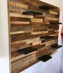 reclaimed barn wood wall art with 7