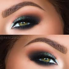 36 most attractive makeup ideas for dark green eyes