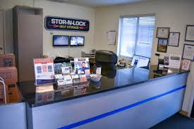 inside the front office of a self storage facility in boise at orchard and kootenai