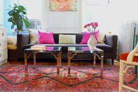 bright living room rugs