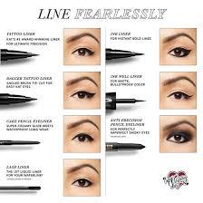 Eyeliner Chart Tattoo Liner