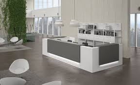 Contemporary Modern Office Furniture Adorable Reception Desks Contemporary And Modern Office Furniture
