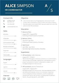 Resume Word Template Free Extraordinary Free Resume Word Templates Modern Document Download Creative File
