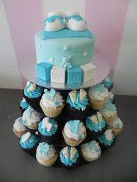 11 Baby Boy Cupcake Cakes Designs Photo Baby Boy Shower Cupcake