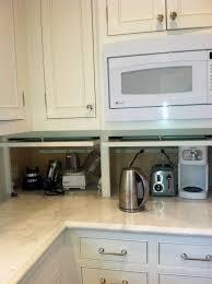 Appliance Garages Kitchen Cabinets Upper Corner Kitchen Cabinet Ideas Corner Cabinets Upper