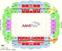 Aami Park Seating Map Austadiums