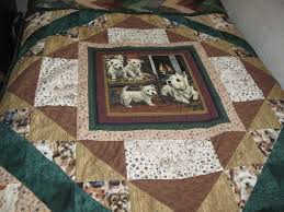 Dog Quilt Patterns Inspiration Dog Quilts CanineInspired Quilts To Love