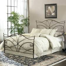 Metal Bed Frame And Headboard Full Queen Size Footboard In Black Finish  Headboards With Birds. Metal King Headboard ...