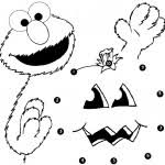 Small Picture Funny and Cute Elmo coloring pages