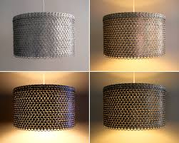 82 most brilliant remarkable soda can tab large drum shade for for large drum pendant light fixture