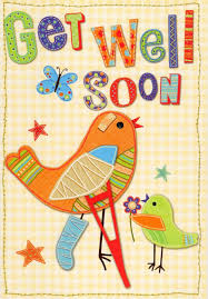 Get Well Card Get Well Soon Greeting Card