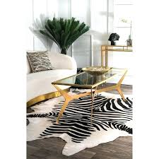 small zebra cowhide rug hand picked black white 5 area zebra cowhide rug uk rugs black