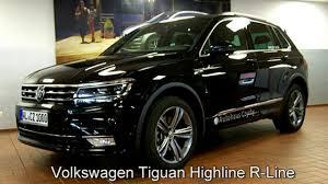 2018 volkswagen tiguan black. brilliant black volkswagen tiguan 20 tdi dsg highline r line hw311431 deep black  perleffekt  throughout 2018 volkswagen tiguan black e