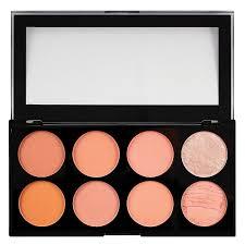 makeup revolution ultra blush palette hot e 13g