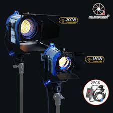 Arri Fresnel Light Us 375 2 30 Off Alumotech As Arri Fresnel Tungsten Spotlight Lighting 150w 300w Dimmer 2 For Studio Video Camera Photography Continous Lighting In
