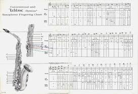 17 Clean Fingering Chart For Saxophone