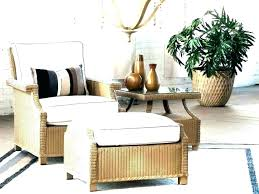 wicker chair with ottoman making rattan and indoor set everglade furniture image of rattan chair