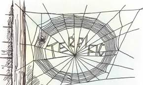 the white pages humanities illustration from charlotte s web