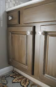 Of Glazed Cabinets How To Glaze A Cabinet Using Stain Jenna Burger