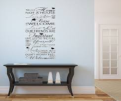 wel e typography hallway lounge vinyl art wall stickers es decal wall feature wall art
