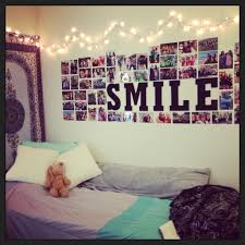 Lights For Teenage Bedroom 15 Awesome Diy Photo Collage Ideas For Your Dorm Or Bedroom