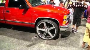 90's Chevy C1500 Silverado Short Bed Truck on 26