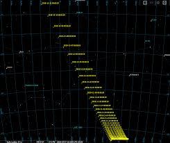 Comet Wirtanen Finder Chart Comet 46p Wirtanen Star Charts
