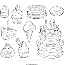 Small Picture Dessert Coloring Pages paginonebiz