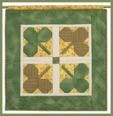 shamrock quilt patterns | SHAMROCK TWISTERThis is an original ... & Make your own luck with a shamrock banner. PDF instructions here http:// Adamdwight.com