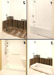 re bath showers how much does cost cost shower tub conversion superior bath how much does