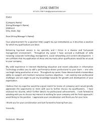 Examples Of Executive Cover Letters Cover Letter It Manager Cover