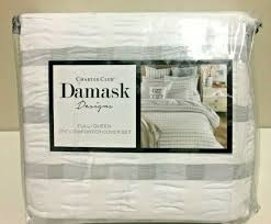 charter club damask designs 3 piece comforter cover set full queen