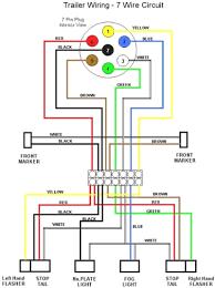 wiring diagram for trailer lights carlplant trailer wiring color code at Trailer Lights Wiring Diagram